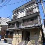 【七条京阪】高床式、免震マンション1K